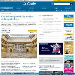 La-croix.com - Cité de l'immigration : les priorités de Benjamin Stora