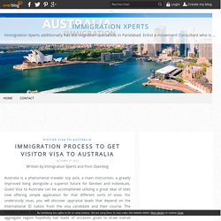 Immigration Process To Get Visitor Visa To Australia