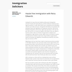 Immigration Solicitors