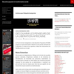 Immigration Archives - Éducation populaire & transformation sociale