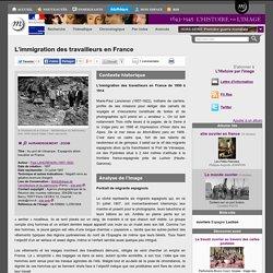 L'immigration des travailleurs en France