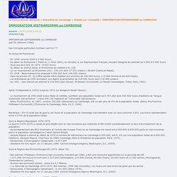 Le Forum Khmer-Network » Actualités du Cambodge » Débats sur l'actualité » IMMIGRATION VIETNAMIENNE au CAMBODGE