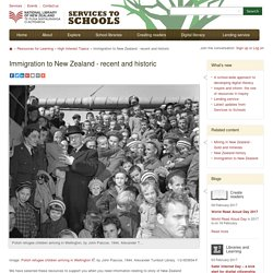 Immigration to New Zealand - recent and historic
