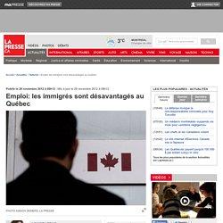 Emploi: les immigrés sont désavantagés au Québec