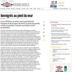Immigrés au pied du mur