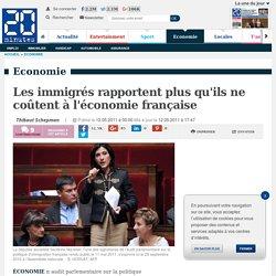 Les immigrés rapportent plus qu'ils ne coûtent à l'économie française