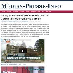Immigrés en révolte au centre d'accueil de Couvin : ils réclament plus d'argent