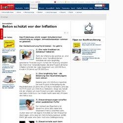 Immobilien: Beton schützt vor der Inflation - Finanztipp
