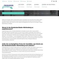Erwerb von Immobilien in Baden-Württemberg - Freiburger Hochbau GmbH