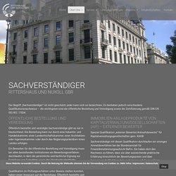 Rittershaus und Nuxoll GbR - Sachverständige für Immobilienbewertung