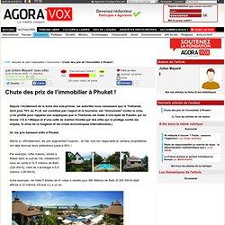 Chute des prix de l'immobilier à Phuket !