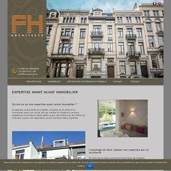 Expertise et Conseils avant Achat Immobilier - F.Hoorickx Architecte