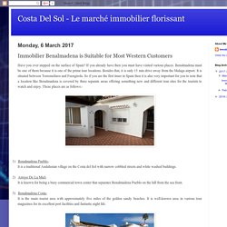 Costa Del Sol - Le marché immobilier florissant: Immobilier Benalmadena is Suitable for Most Western Customers