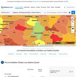 Prix immobilier Chalon-sur-Saône (71100)