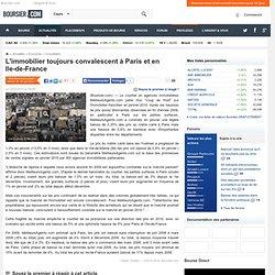 L'immobilier toujours convalescent à Paris et en Ile-de-France -