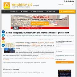 10 themes wordpress pour créer votre site internet immobilier gratuitement