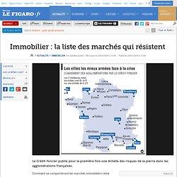 Immobilier : Immobilier: la liste des marchés qui r