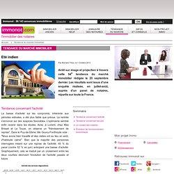 L'immobilier des notaires : Tendance du marché immobilier