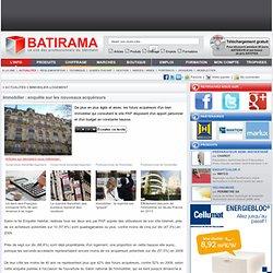 Immobilier : enquête sur les nouveaux acquéreurs-8601