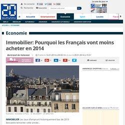 Immobilier: Pourquoi les Français vont moins acheter en 2014