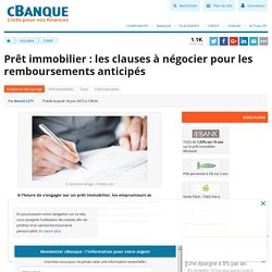 Cr dit pearltrees - Documents pour pret immobilier ...