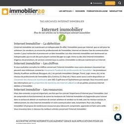 Internet Immobilier : Les Meilleurs Stratégies - Immobilier 2.0