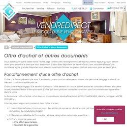 Documents légaux relatifs à l'achat immobilier - VendreDirect