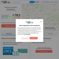 Prix immobilier à la vente à Montauban