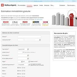 Estimation immobiliere gratuite - MeilleursAgents.com