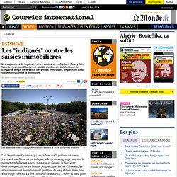 """Les """"indignés"""" contre les saisies immobilières"""