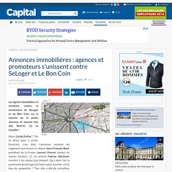 Annonces immobilières : agences et promoteurs s'unissent contre SeLoger et Le Bon Coin