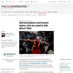 Self-immolation and human rights: why we need to talk about Tibet