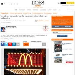 Les 5 trucs immondes que j'ai vus quand je travaillais chez McDonalds
