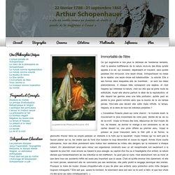 Immortalié de l'être - Schopenhauer.fr
