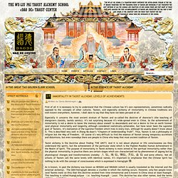 Immortality in Taoist alchemy. Levels of achievements