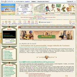 """Les 9 CONSTITUANTS de l'ÊTRE / site """"Immortelle Égypte"""""""