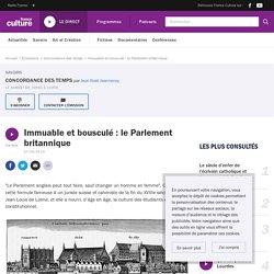Immuable et bousculé : le Parlement britannique