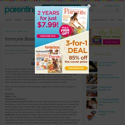 Immune Boosters for Moms