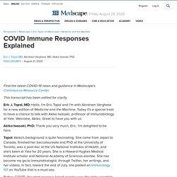 COVID Immune Responses Explained