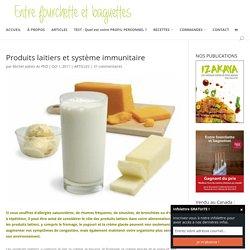 Produits laitiers et système immunitaire