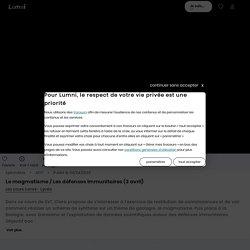 Le magmatisme / Les défenses immunitaires (3 avril) - Vidéo Spécialités