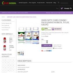 Immunity Care Combo Pack (Immunorich, Tulsi, Giloy)