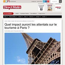 Quel impact auront les attentats sur le tourisme à Paris ?
