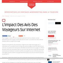 L'impact des avis des voyageurs sur internet