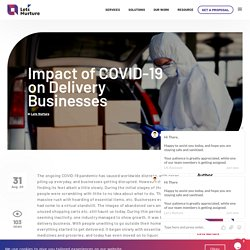 Impact of COVID-19 on Delivery Businesses