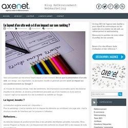 Impact du design sur le SEO d'un site web.