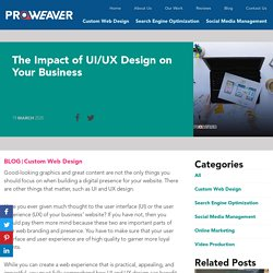 The Impact of UI/UX Design on Your Business