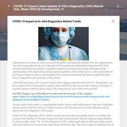 COVID-19 Impact on In-vitro Diagnostics Market Trends