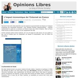 L'impact économique de l'Internet en France