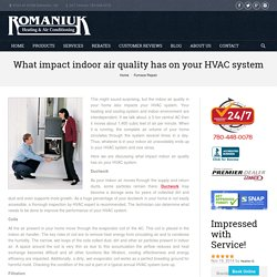 HVAC Air Technology for Indoor Environment Comfort